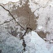 天井に壁紙にシミがある