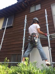 安城市塗装 コーキング 雨漏り修理