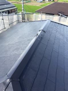 シリコン塗料 カラーベスト スレート屋根