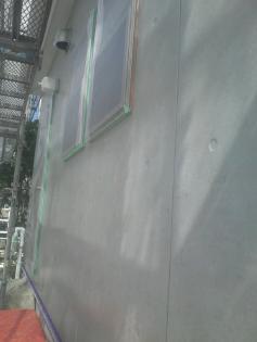 外壁 クリヤー塗装 塗装後