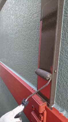 外壁塗装 ローラー仕上げ