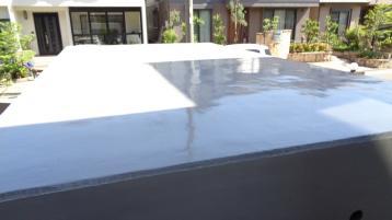 車庫屋根塗装