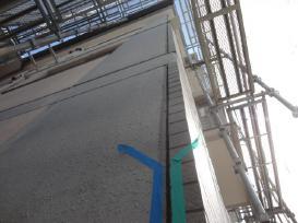 専用プライマー塗布作業 外壁屋根 防水工事