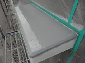 出窓天板 防水塗装 塗装