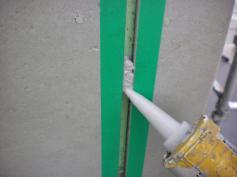 コーキング ひび割れ シリコン塗料