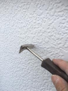 外壁補修 釘打ち