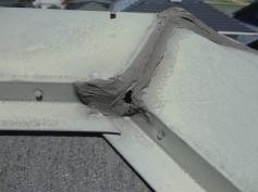 屋根 棟板金 劣化