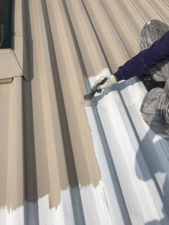 屋根折板塗装