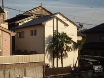 岡崎市外壁塗装 塗り替え シリコン塗装