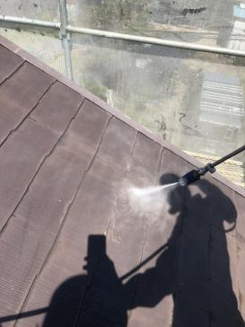 外壁屋根 シリコン塗装 屋根洗浄