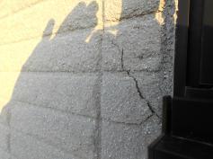 外壁クラック 塗り替え 岡崎塗装