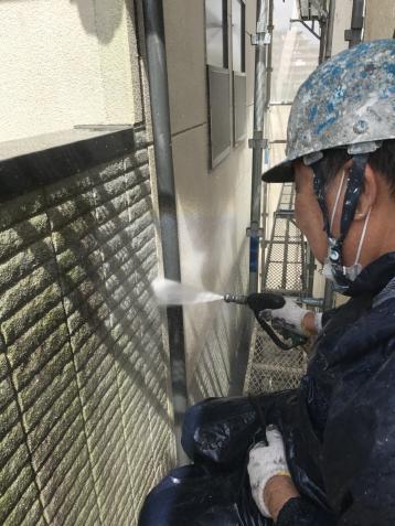 高圧洗浄 外壁塗装