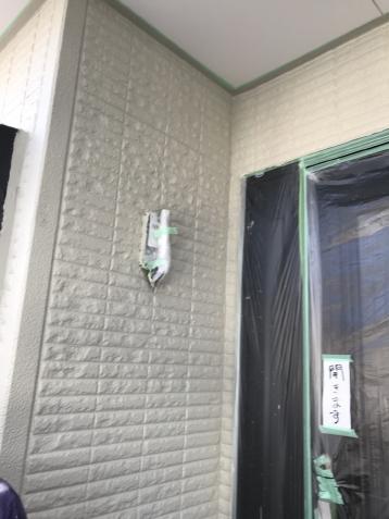 外壁塗り替え シリコン塗料 施工事例