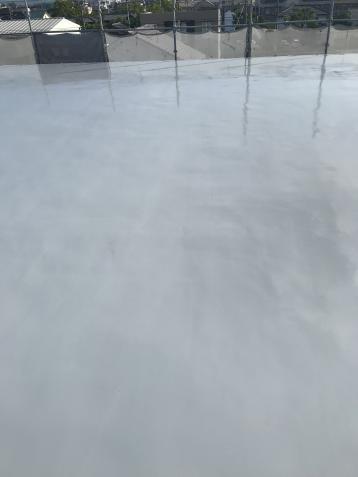 屋上防水完成 雨漏り 修繕