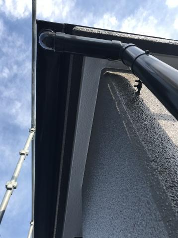 完成写真 アステック塗料 屋根ウレタン塗膜