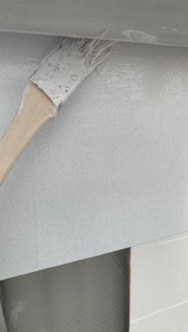 外壁塗装作業 アパート岡崎市 シリコン塗料