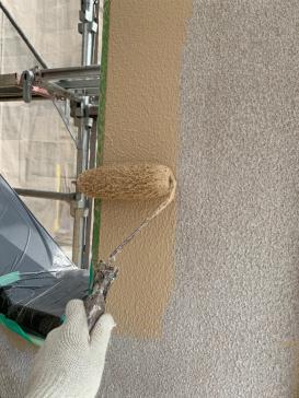 外壁塗装作業 アパート アステックプラチナ