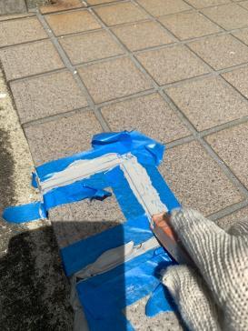 タイル補修 外壁アパート塗装