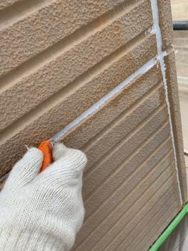 外壁目地 コーキング アパート塗装