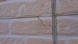 外壁ひび割れ 外壁塗装工事 アステック塗料