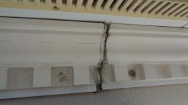 幕板コーキング劣化 外壁塗装工事
