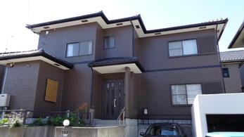 岡崎市緑丘 超低汚染リファイン 外装リフォーム施工事例 K様邸