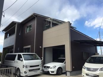 岡崎市大平町 超低汚染リファイン アステック塗料 外壁塗装施工事例 K様邸