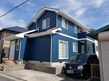 額田郡幸田町 超低汚染リファイン 屋根・外壁塗装施工事例 K様邸