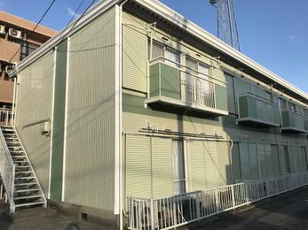 岡崎市矢作町 高耐候性シリコン 外壁及び屋根塗装改修工事施工事例 サンシティ21