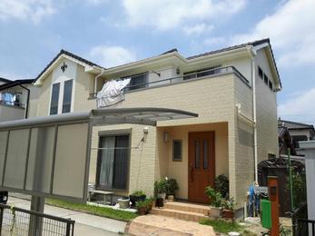 刈谷市 アステック塗料使用 外壁塗装施工事例 O様邸