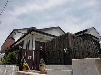 岡崎市上地町 屋根・外壁塗装施工事例 村田様邸