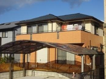 崎市 アステック塗料使用 屋根・外壁塗装施工事例 I様邸