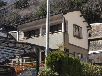 岡崎市山綱町 アステック塗料使用 外装リフォーム施工事例 村田様邸