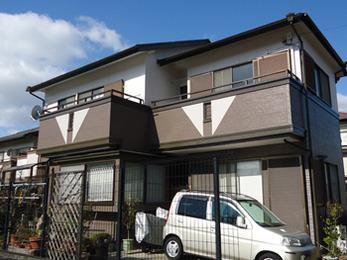 岡崎市 屋根・外壁塗装施工事例 F様邸