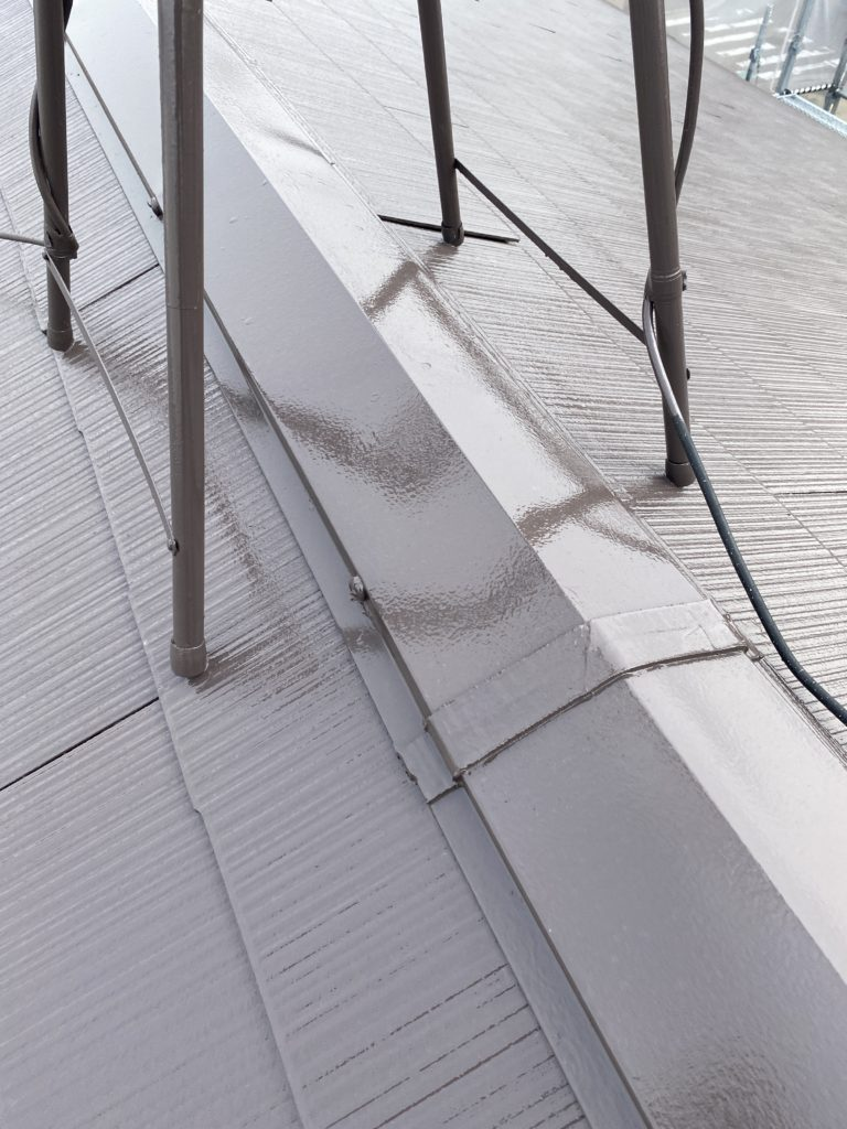 屋根塗装<br>完成