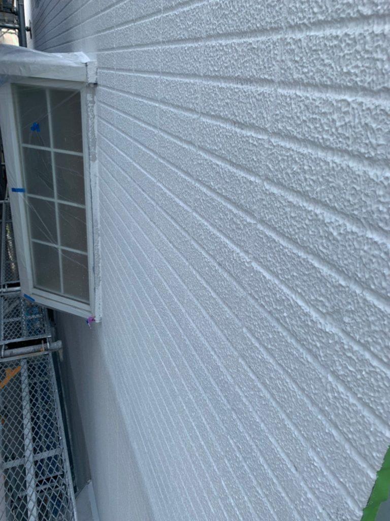 外壁塗装 下塗り後