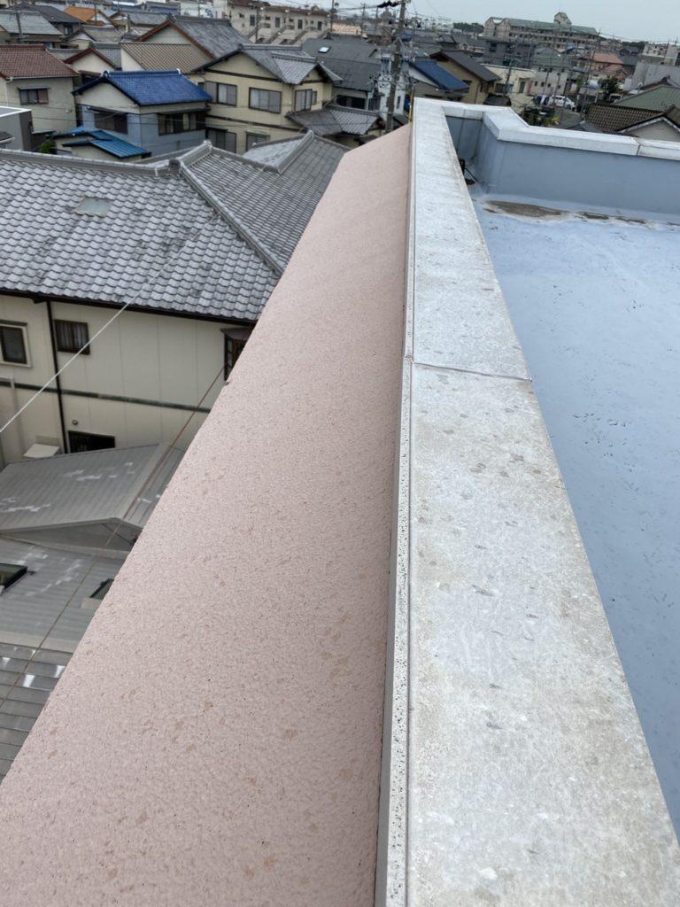 施工前 屋上からの画像